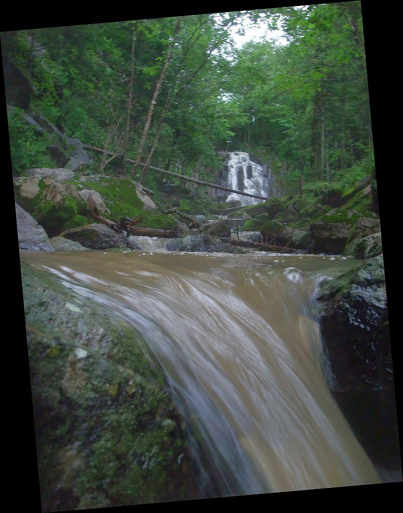 стеклянухинский водопад