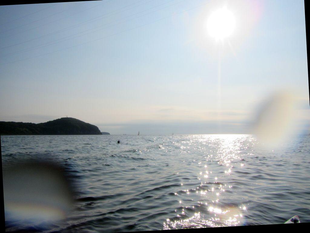 8 Неплохая волна от катера - уже можно ехать на ней