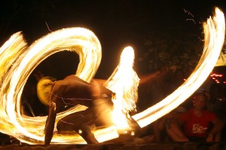 The Fire show in Thailand