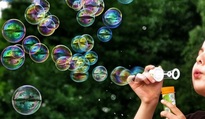 Качественные мыльные пузыри
