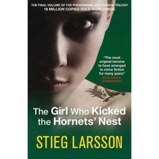 The Girl Who Kicked the Hornets Nest cover