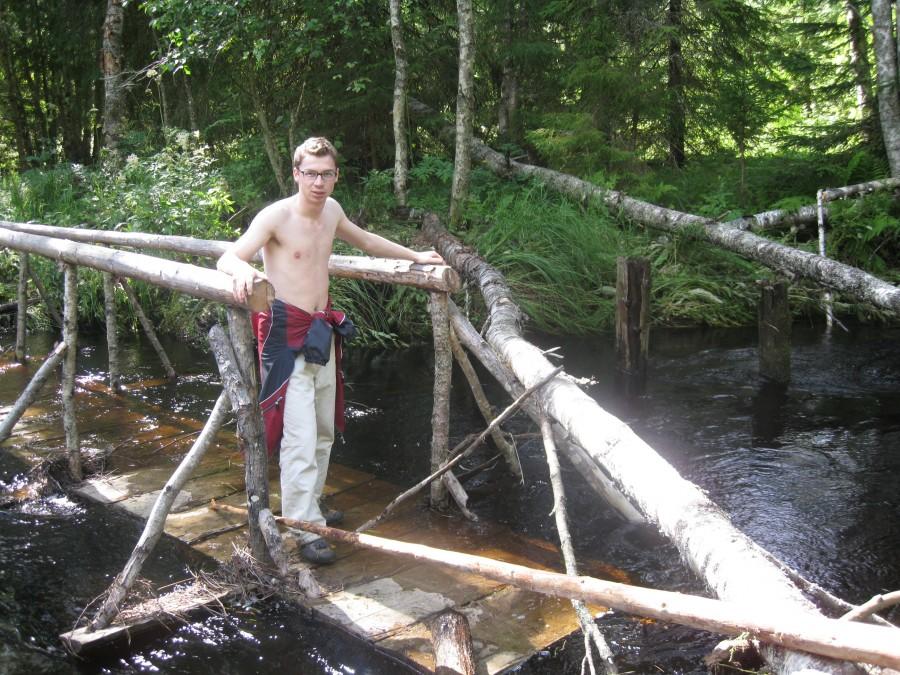 Павел на мосту