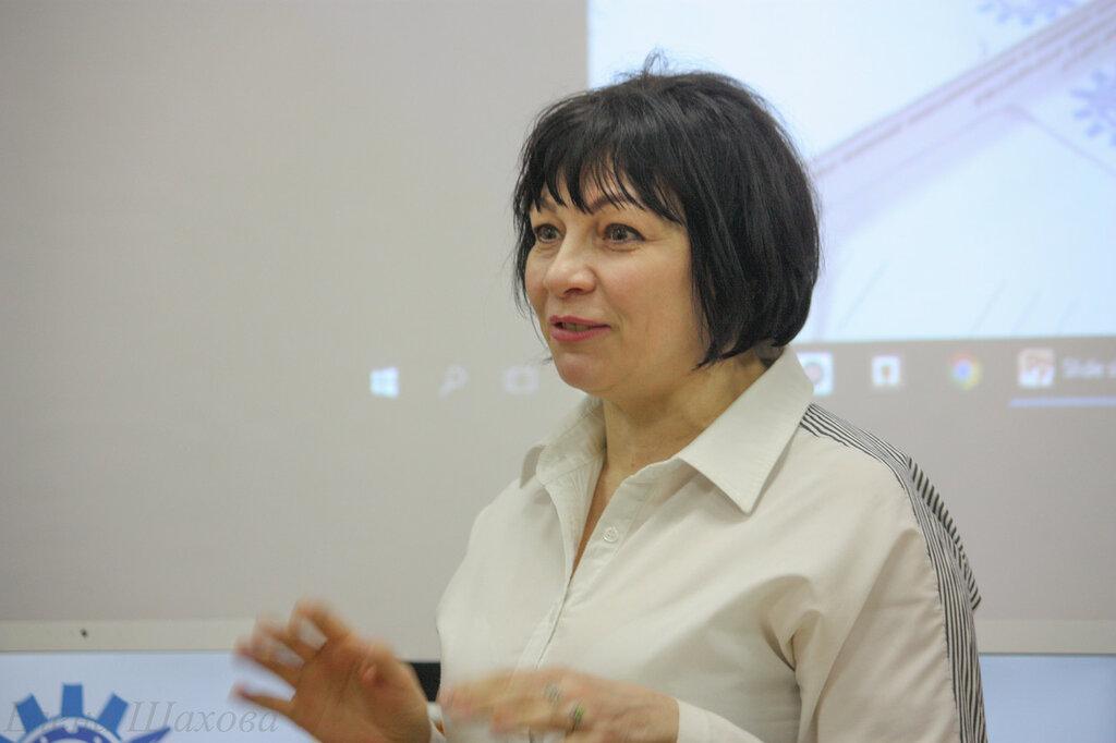 ОТкрытие инновационного центра-Панкратова Елена Юрьевна, заместитель начальника сопровождения предоставления субсидий Агентства инноваций экономических проектов