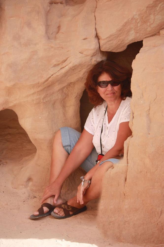 Парк Тимна - я в пещерке
