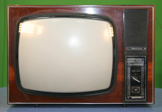 телевизоры 80 х годов фото