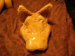 Taped mask
