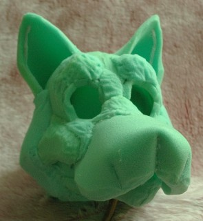 Foamwork for wolf mask! - How DO you make those Animal Costumes? (Fursuits) & Foamwork for wolf mask! - How DO you make those Animal Costumes ...