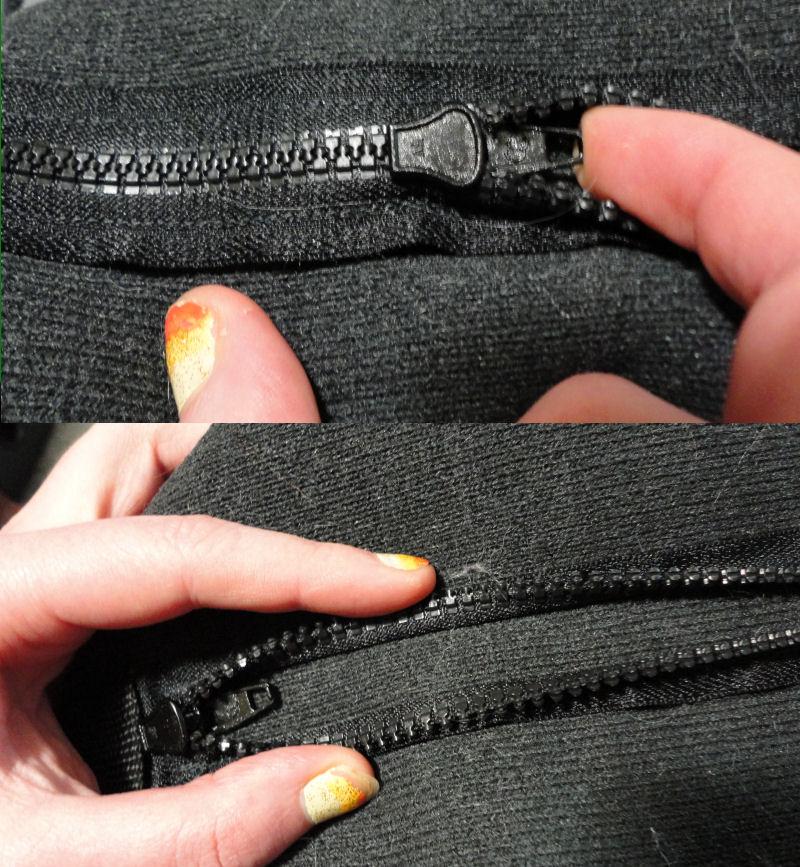 Unzip your zipper