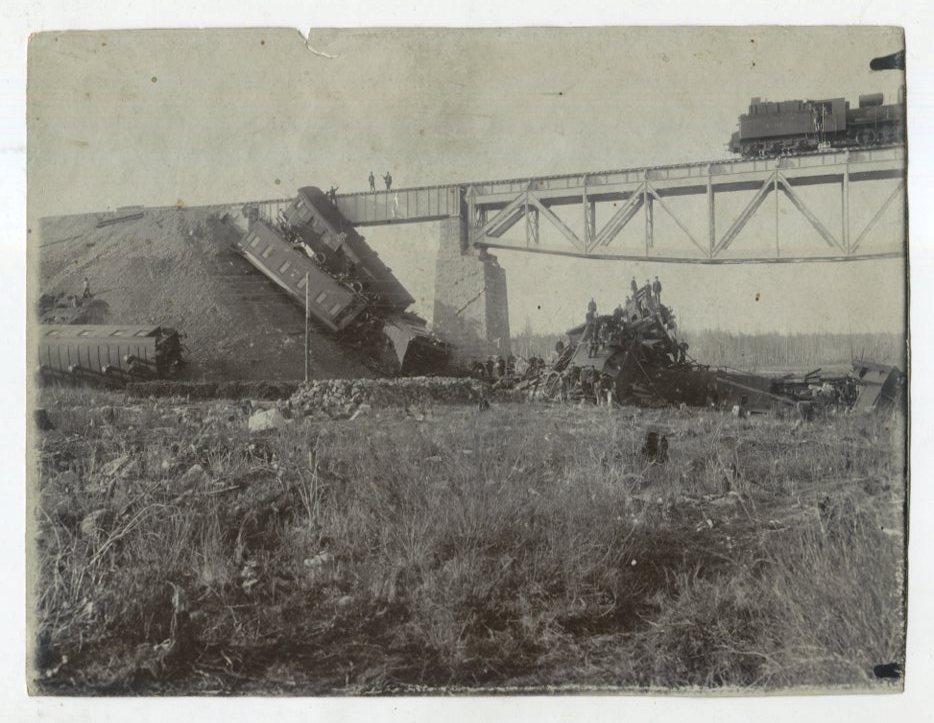 Крушение поезда на забайкальской железной дороге