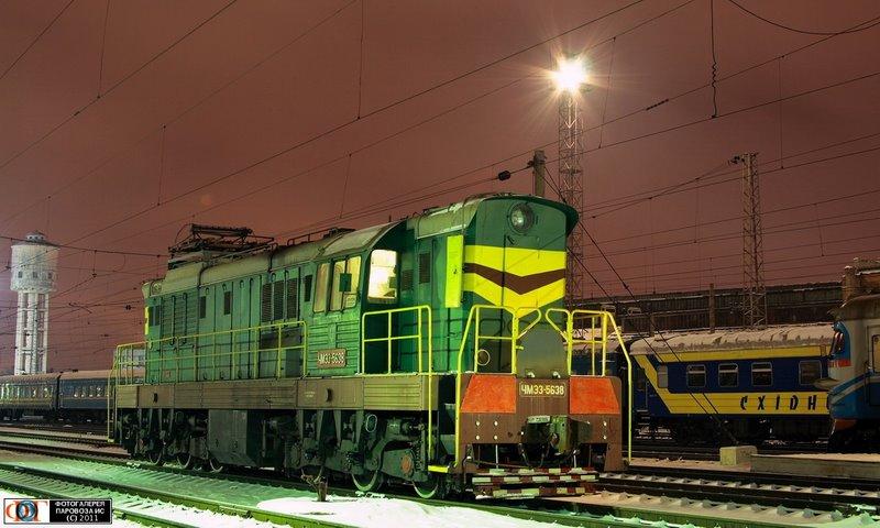 Тепловоз ЧМЭ3-5638, ст. Днепропетровск
