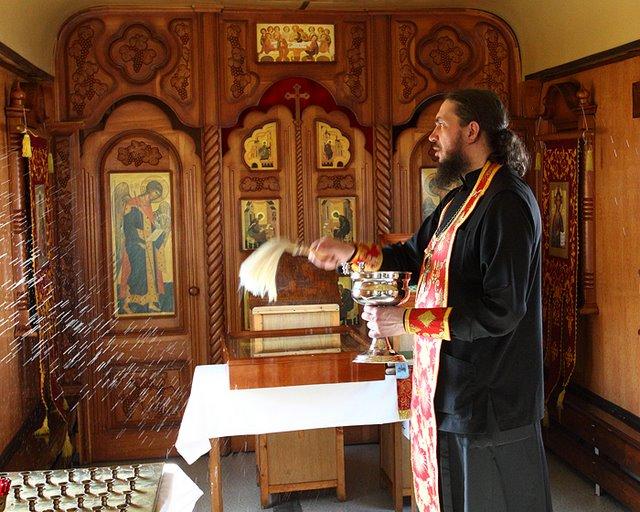 Отправление храма-вагона Святителя Иннокентия Иркутского в миссионе