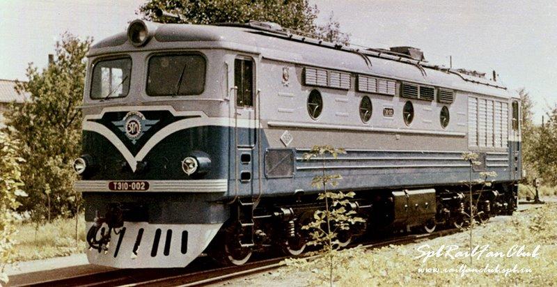 Тепловоз ТЭ10-002, 1960. Фото Харьковского завода,