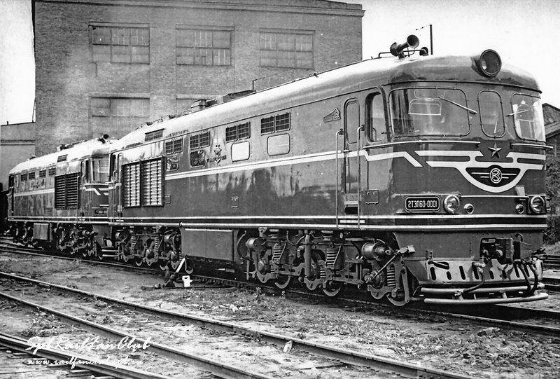 Тепловоз 2ТЭП60-0001, Коломенский завод, 1964. Фото Коломенского завод