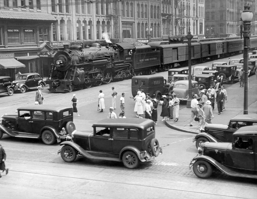 Syracuse, New York c. 1933.