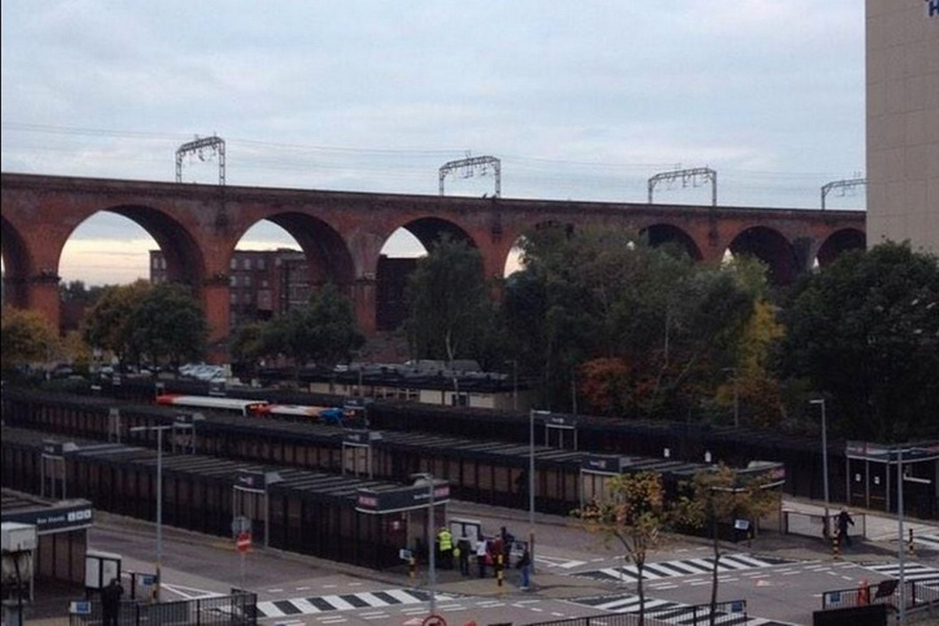 Trains-halted-through-Stockport-after-woman-seen-on-viaduct 2