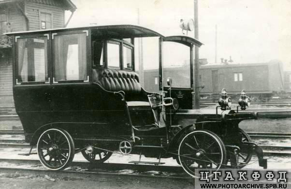 Автомобиль для передвижения по железной до