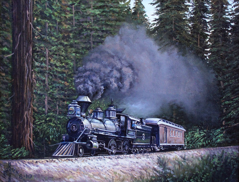Karanahan-Redwood Express-11x14