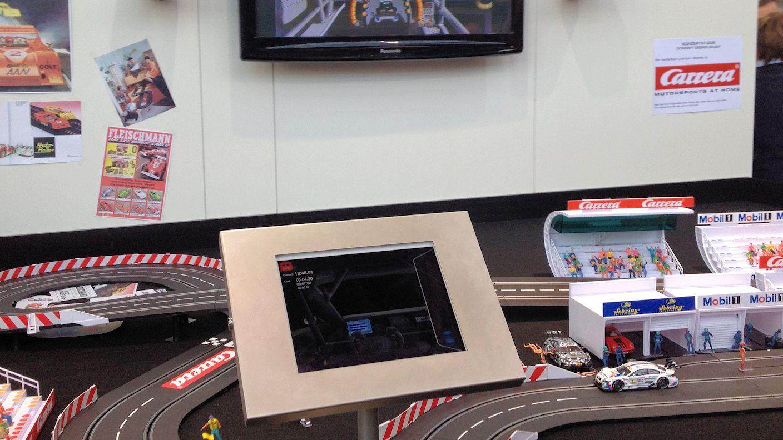 Roco - Steuerung auch für Autorennbahn mit Sound und Kamera im Auto