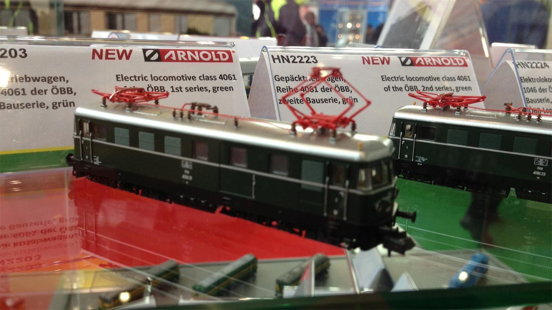 Arnold Gepäcktriebwagen Reihe 4061 der ÖBB Spur N