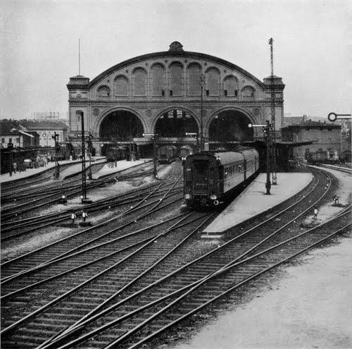 Gleisansicht 1930