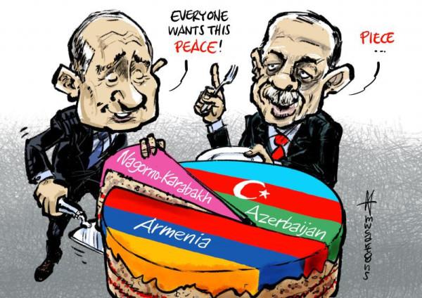 Азербайджан - Армения. Мир.