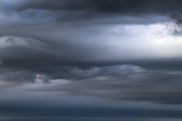 Небо над озером Сейд