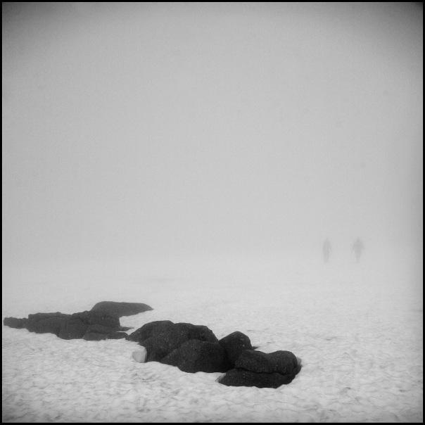 В тумане Маннепахка. Фото Саши Панова