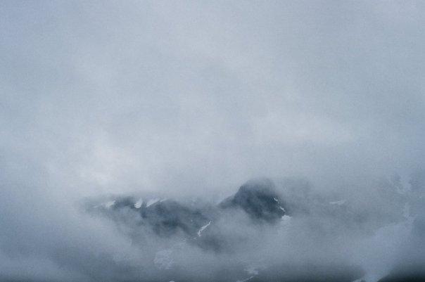Ангвундасчорр в облаках