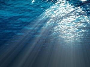 3296361-une-scene-sous-marine-avec-des-rayons-de-soleil-qui-brille-a-travers-l-39-eau