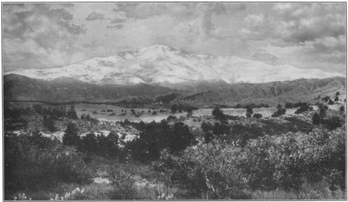 Image of the Old Ranch View of Pike's Peak