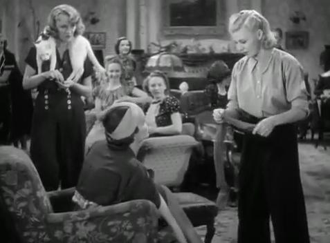 Eve Arden and Ginger Rogers in Stage Door - 1937