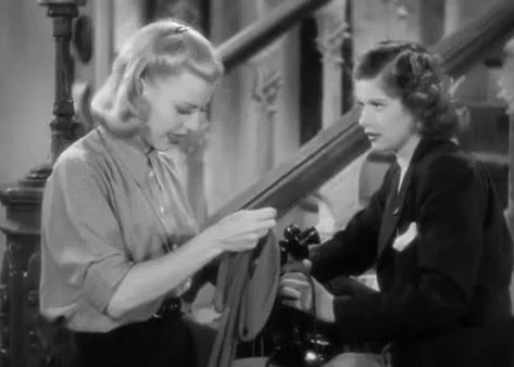 Ginger Rogers and Lucille Ball in Stage Door (1937)