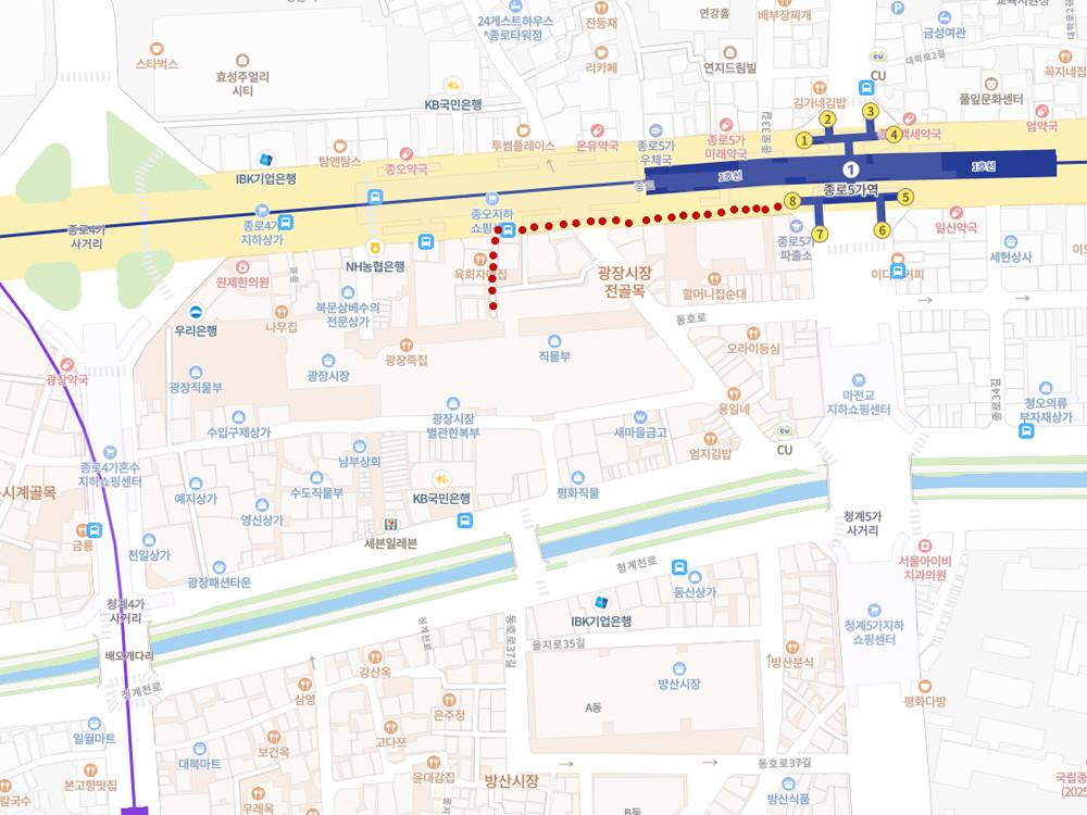 Кликните для перехода к карте NAVER