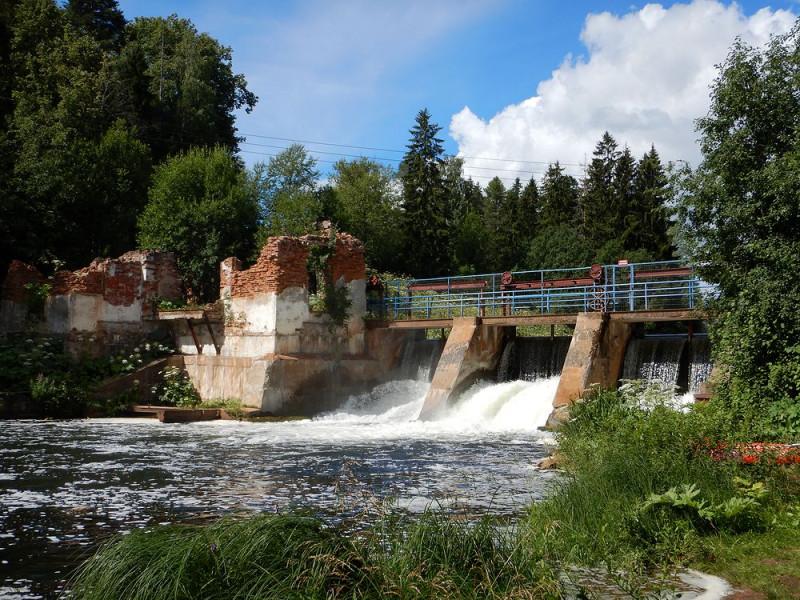 Бывшая Белогорская ГЭС
