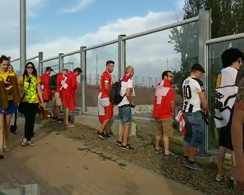 Писающие на улице швейцарцы возмутили жителей Ростова-на-Дону