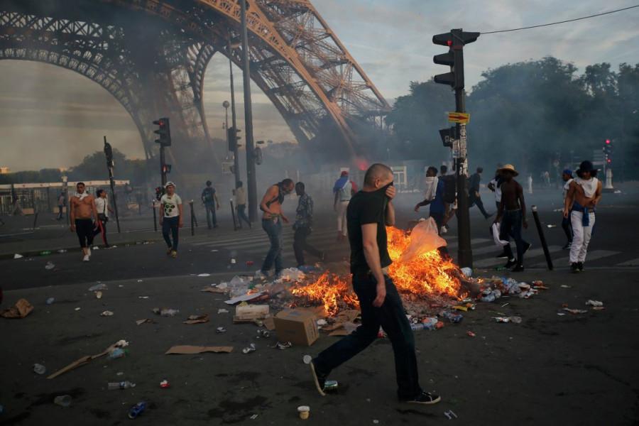 ЧМ-2018: матч Франция-Бельгия перерос в беспорядки в Париже и Брюсселе