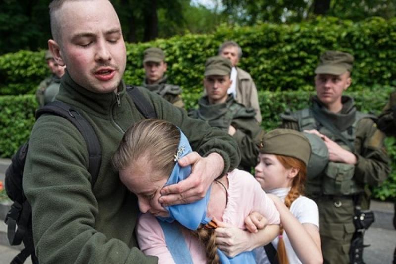В Киеве зарезали майдауна