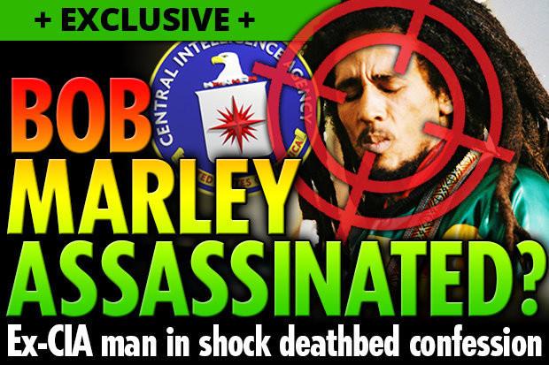 Агент ЦРУ перед смертью признался в убийстве Боба Марли