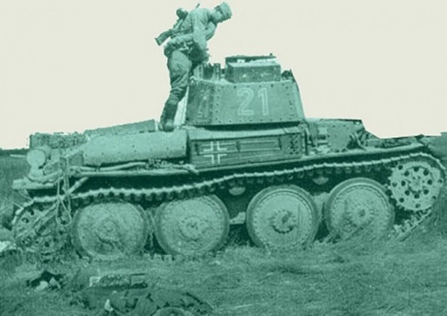 Как кашевар Иван Середа обезвредил немецкий танк... топором