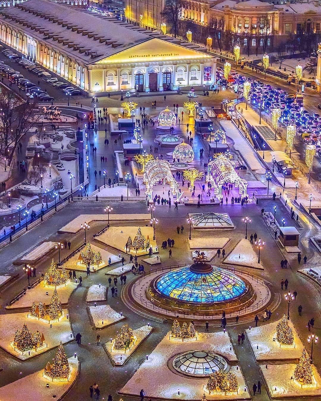 Москва зимой не менее прекрасна