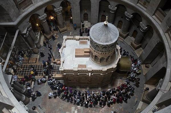 На Гробе Господнем не допускают к Богослужениям членов ПЦУ