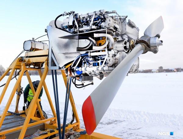 В России прошли первые в мире успешные испытания алюминиевого авиадвигателя