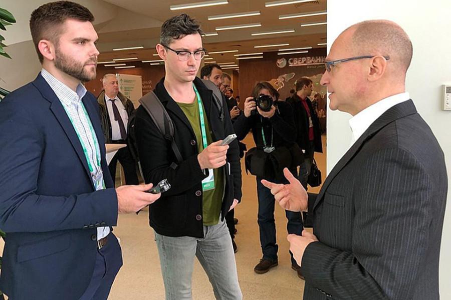 Кириенко рассказал «КП», как без блата стать успешным в России