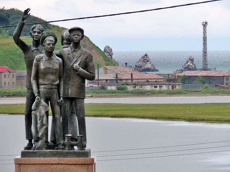 Александровск-Сахалинский. Три брата и Дуэ