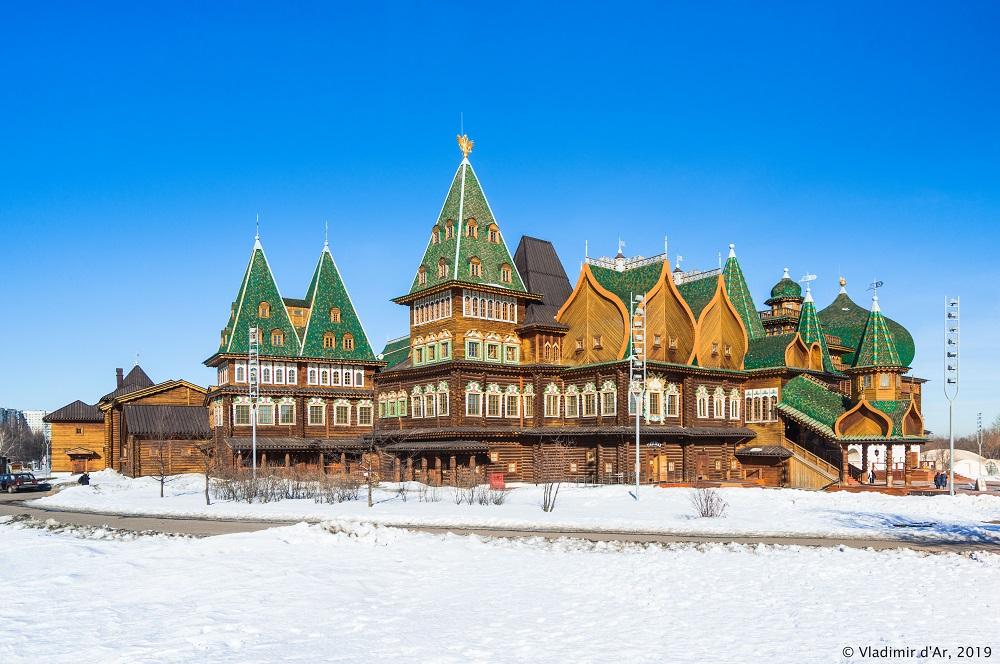 Дворец царя Алексея Михайловича - Коломенское