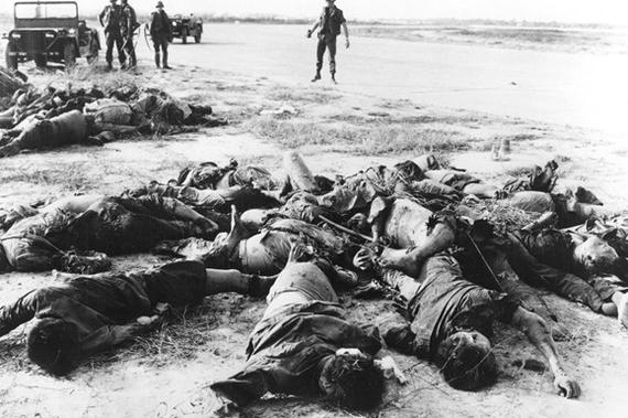 Годовщина бойни в деревне Сонгми, устроенной американскими козлами - ибо это не солдаты