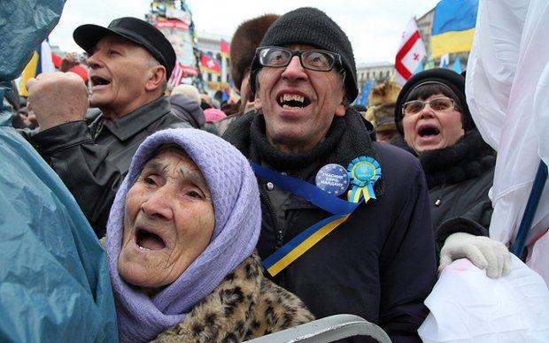 Украина: слова и позиции
