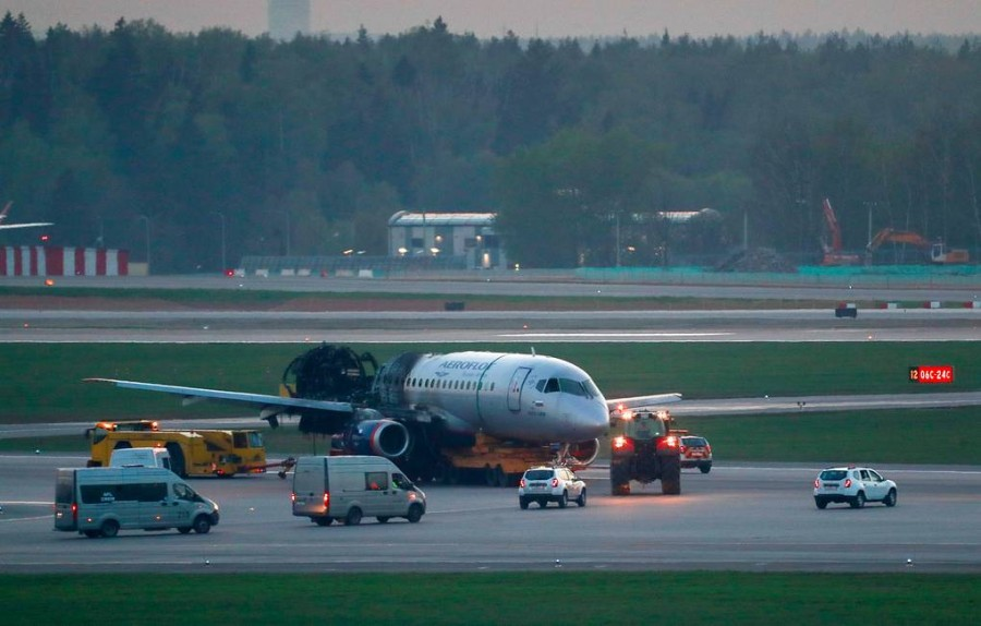 Данные о проблемах с эвакуацией из SSJ-100 из-за ручной клади не подтвердились