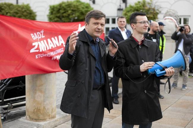 Политический узник Матеуш Пискорский выходит на свободу