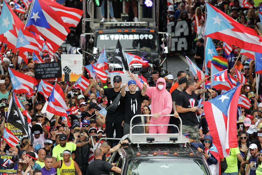 Власть в Пуэрто-Рико свергли Сорос, Рокфеллеры, Telegram и экс-украинка